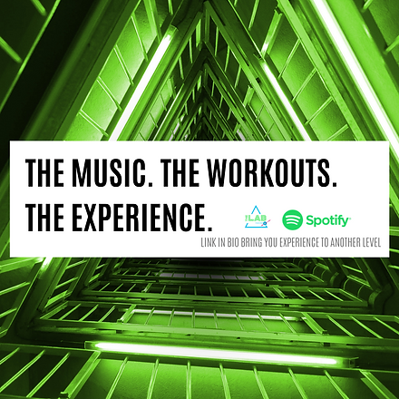 Copy of THE MUSIC. THE WORKOUTS. THE EXP