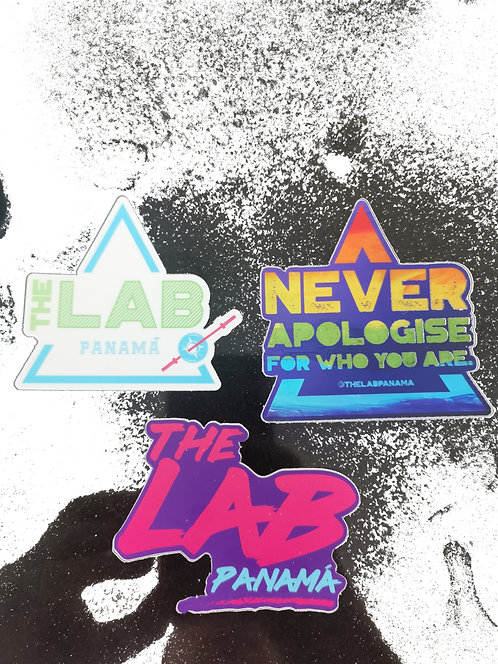 THE LAB STICKERS PACK