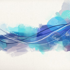 "n°9 ""Fleuve turbulent"""