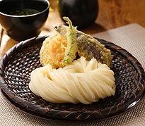 野菜天ざる (南瓜・人参・茄子・ししとう) 九五〇円
