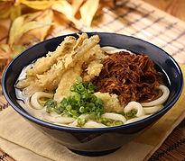 かけ+牛肉+ごぼう天 一、二五〇円