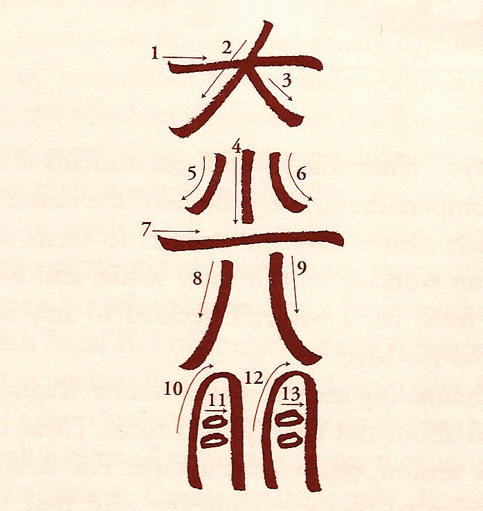 Dai Ko Myo - A Level Three Symbol