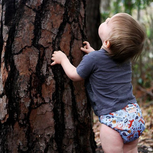 SMART ONE 3.1 CLOTH DIAPER - FOREST FRIENDS
