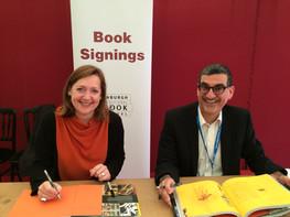 NMOS book signing Edinburgh Internationa