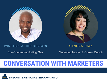Conversation With Marketers (Sandra Diaz)