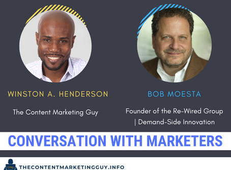 Conversation With Marketers (Bob Moesta)