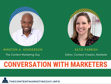 Conversation With Marketers (Katie Parrish)