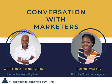 Conversation with Marketers (Simone Walker)