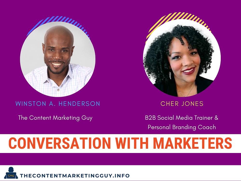 Conversation With Marketers (Cher Jones)