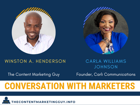 The Power of PR in Growing Your Business (Carla Williams-Johnson)