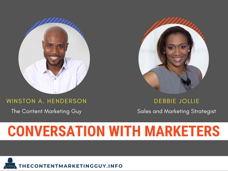 Conversation With Marketers (Debbie Jollie)