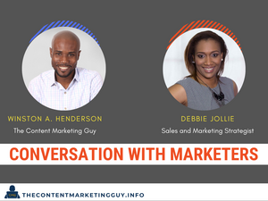 conversation with marketers