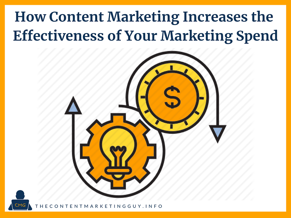 How Content Marketing Increases the Effectiveness of Your Marketing Spend