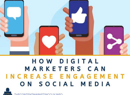 How Digital Marketers Can Increase Engagement on Social Media