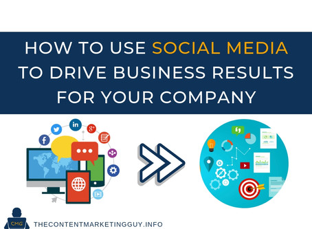 How to Use Social Media to Drive Business Results for Your Company