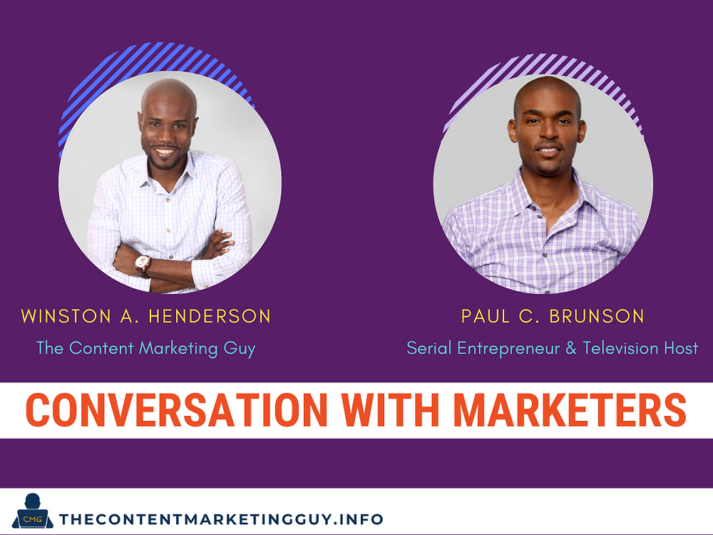 conversation with marketers header