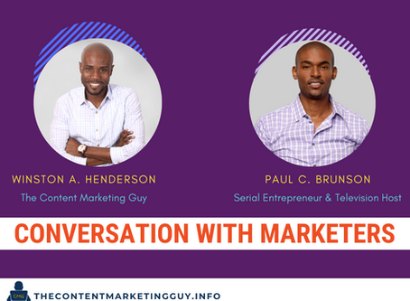 Conversation With Marketers (Paul Brunson)