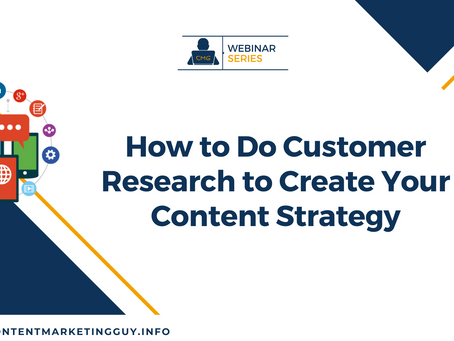 How to Do Customer Research to Create Your Content Strategy
