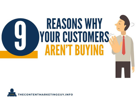 9 Reasons Why Your Customers Aren't Buying