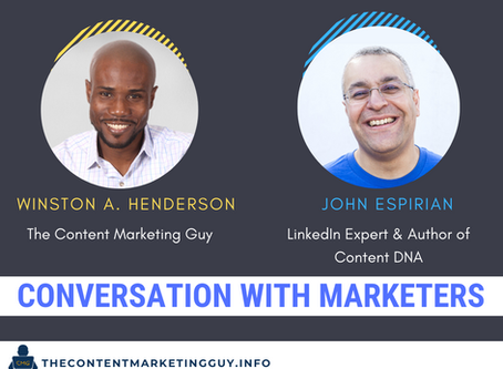 Conversation With Marketers (John Espirian)