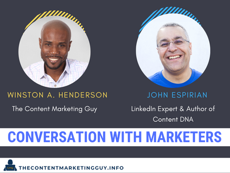 Conversation With Marketers (John Espirian)