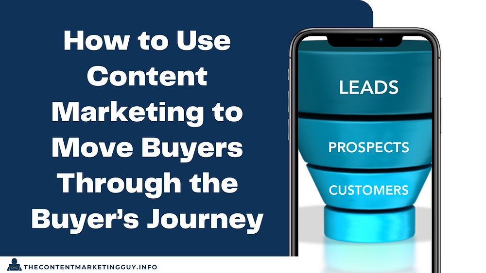 How to Use Content Marketing to Move Buyers Through the Buyer's Journey header image
