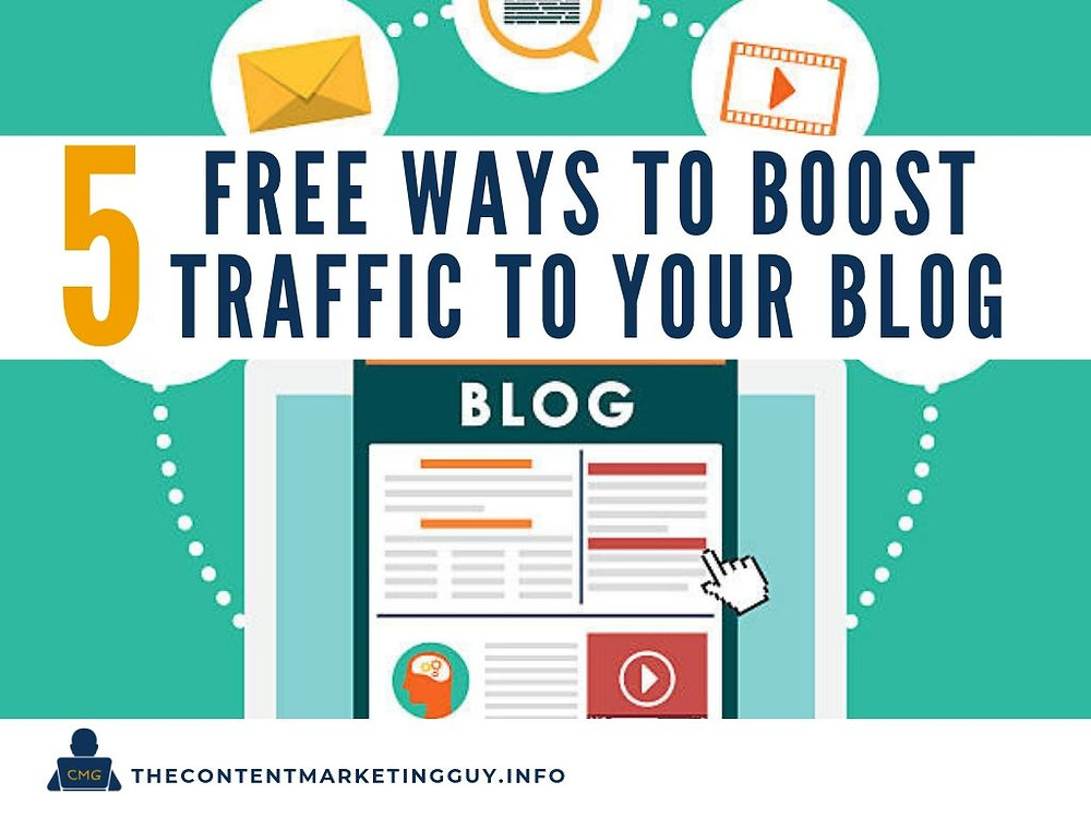 5 Free Ways to Boost Traffic to your Blog