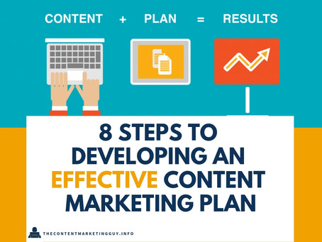 8 Steps to Developing an Effective Content Marketing Plan