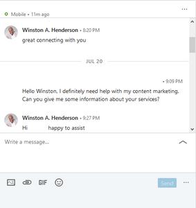 LinkedIn results 1