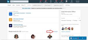 LinkedIn search 2