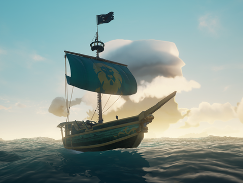 8 Months Later... I'm still sailing on the Sea of Thieves