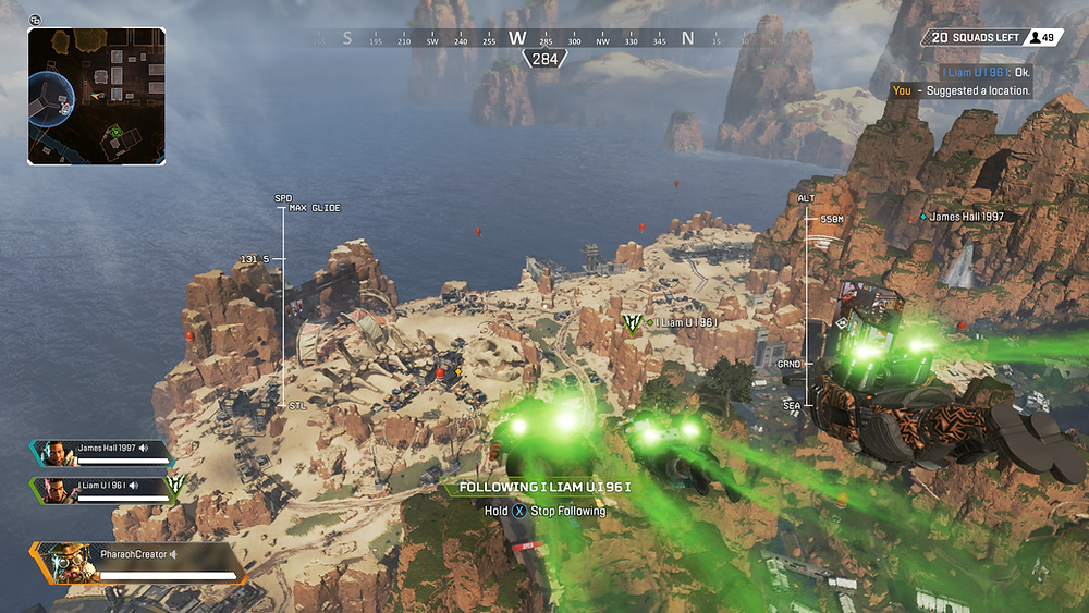 Come on, admit it. Jet-packing into a map is WAY cooler than parachuting. Right?