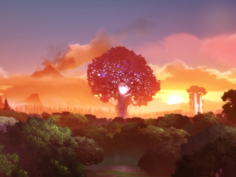 The Blind Forest helped me see.