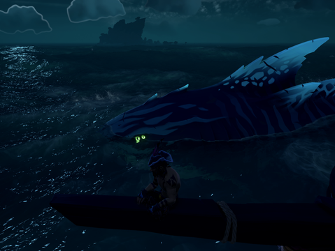 Shrouded Spoils introduces a much needed element to the Sea of Thieves. Danger.