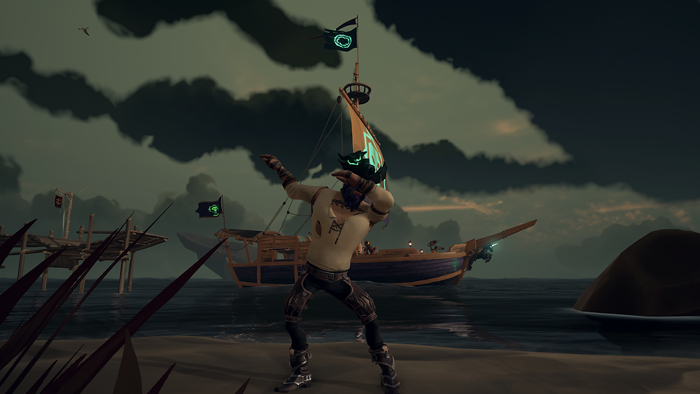 Reppin' Athena's Fortune - just like a good little Pirate Legend.