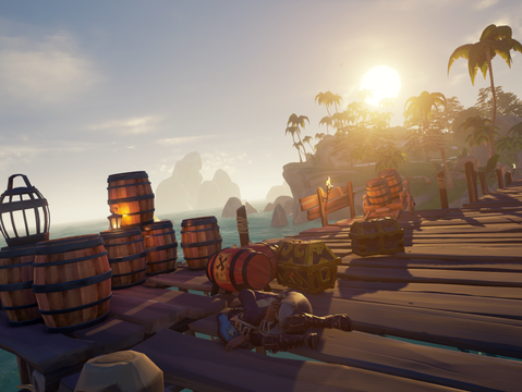 The wealthier my pirate becomes, the more risks he's willing to take.