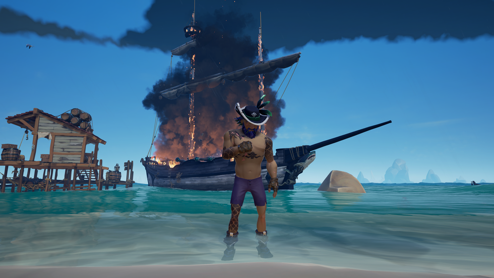 734 days later. Still sailing the Sea of Thieves.