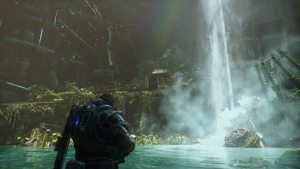 Gears 5. Gorgeous... fun... and on Gamepass.