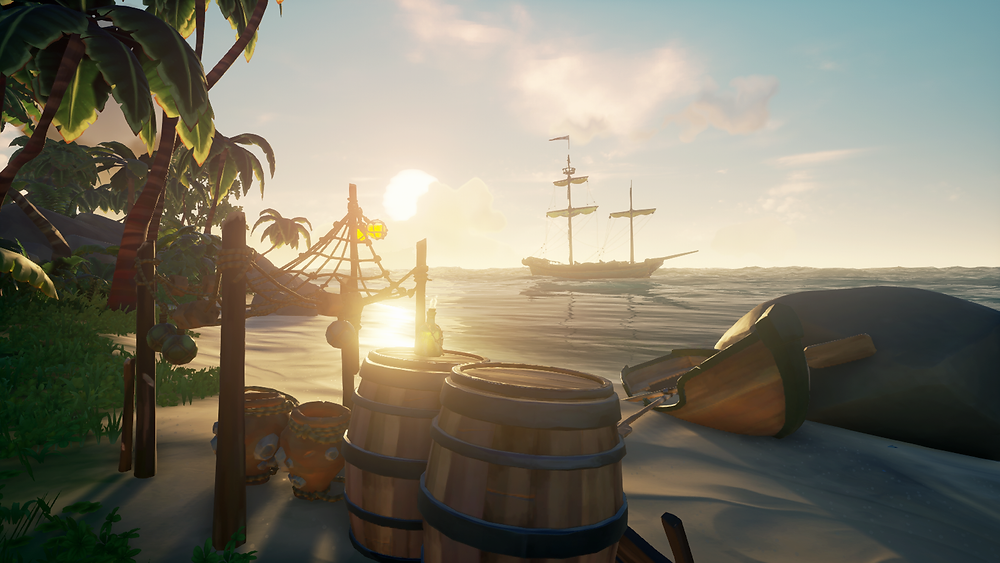 It ain't a post on PharaohCreator.com without an obligatory Sea of Thieves screengrab... so here's the one for this article!