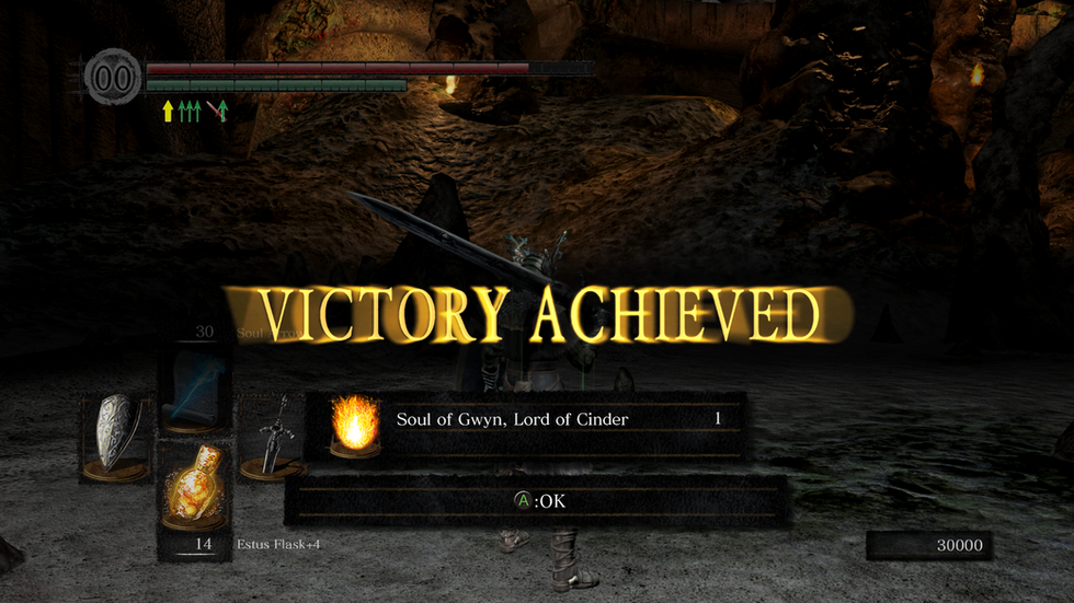 If I can do it, so can you. (Dark Souls. Done.)