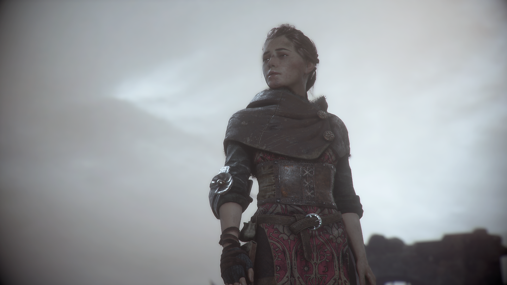 Meet Amicia. She's one of the most interesting characters I've met in a game for some time.