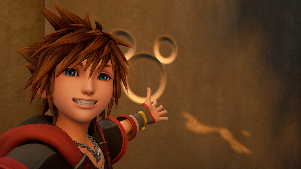 Sora. He's a cheeky chappy. And persistent whiner.