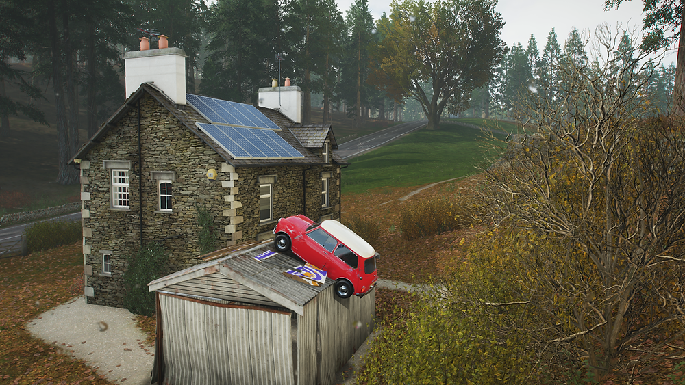 The Mini. A classic. And one that I can't drive without endangering life and limb in games, OR in real life.