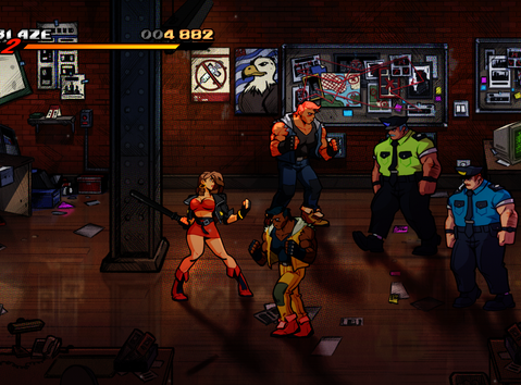 Streets of Rage 4 - a digital love-letter to the 90's.