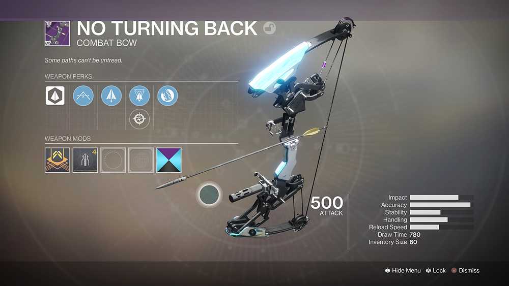 The most aptly named weapon currently available in Destiny 2?