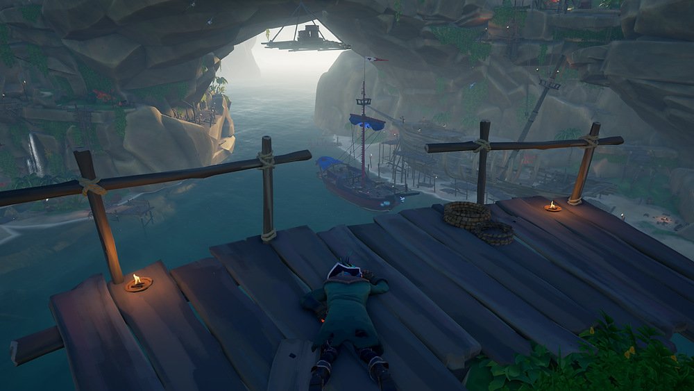 See that ship full of loot down there? It isn't mine.