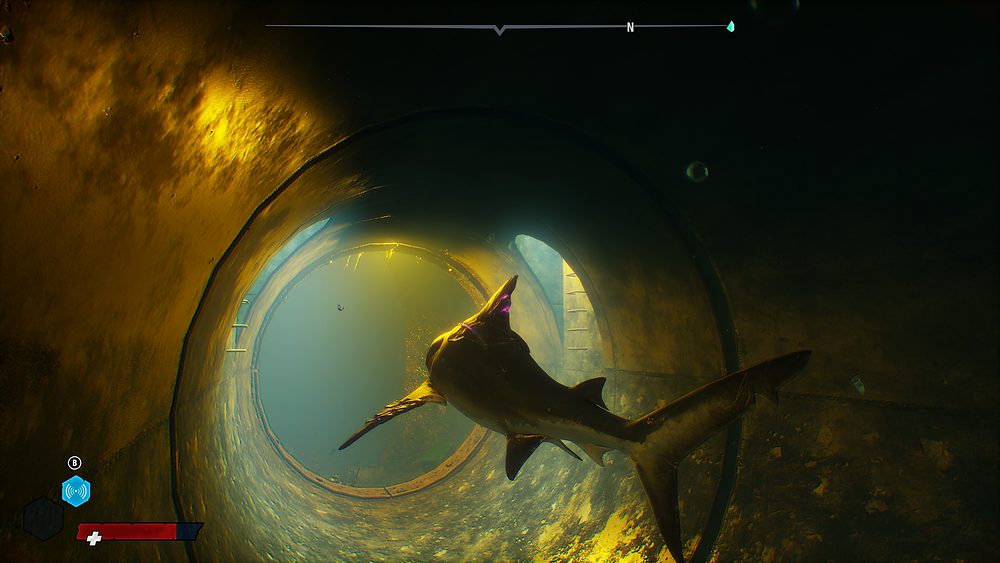 Swimming through sewers and drains to access hidden areas is something you'll do a lot.