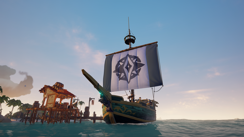 Sea of Thieves. The longer it's out, the better it becomes.