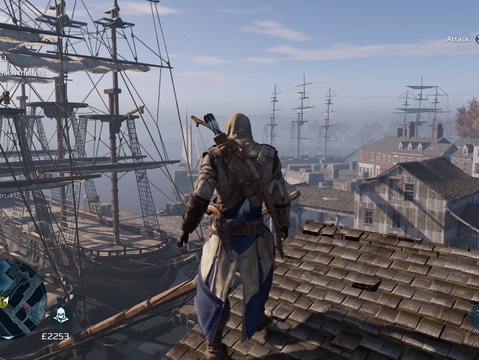 Assassin's Creed 3 Remastered - no tea party.