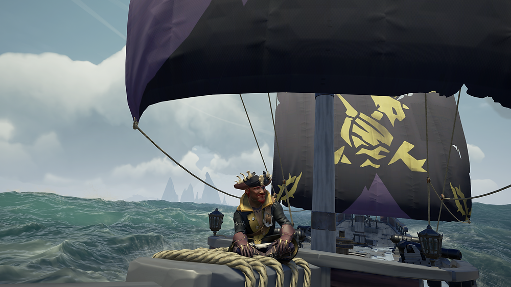 Campaign reward sails. These were from Daggertooth Outpost.